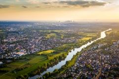 River Main and Frankfurt