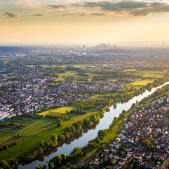 River Main and Frankfurt