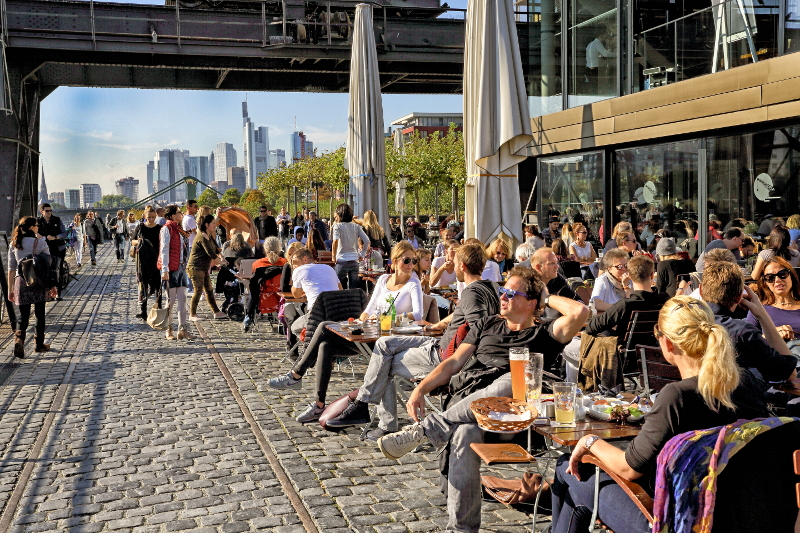 Frankfurt ranked number 12 among the top 30 most liveable cities in theworld